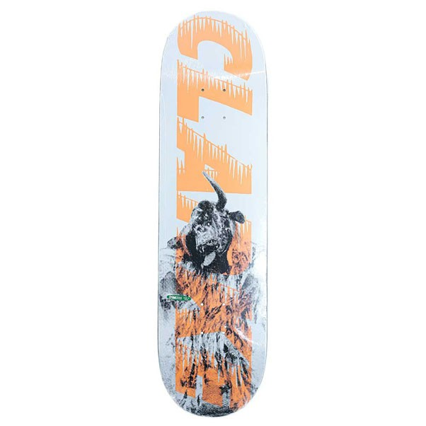 Palace Skateboards Clarke Bankhead Skateboard Deck Orange 8.25""