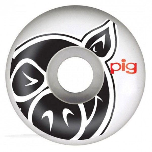 Pig Head Natural 53mm Wheels