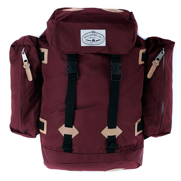 Poler Stuff Classic Rucksack Backpack Burgundy