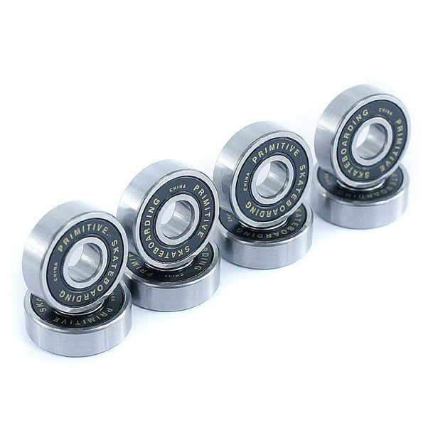 Primitive Skateboards Bearings Set Of 8 Black