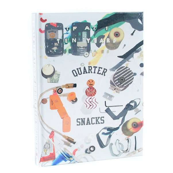 Quartersnacks TF At 1 - 10 Years Of Quartersnacks Hardcover Book