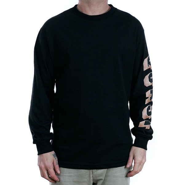 Quasi Skateboards Prix Longsleeved T-Shirt Black
