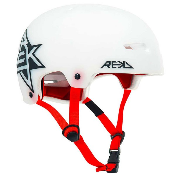 REKD Elite Icon Semi Transparent Helmet White