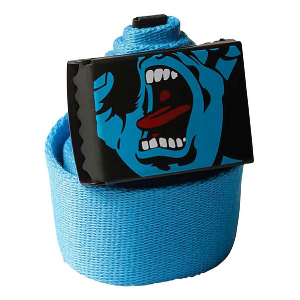 Santa Cruz Screaming Hand Belt Blue Adult One Size