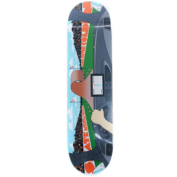 Skate Mental Skateboards Colden Worst Things Happen Skateboard Deck 8.125""