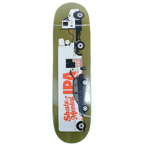 Skate Mental Skateboards Plunkett Beer Truck Skateboard Deck 8.625""