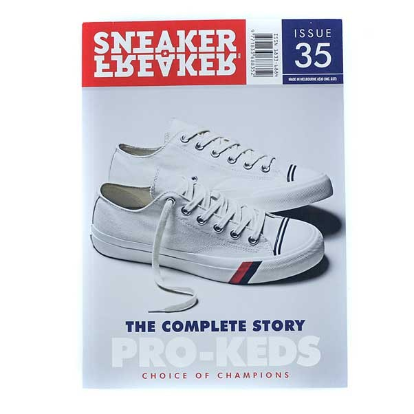 Sneaker Freaker Magazine Issue 35 Pro Keds Cover