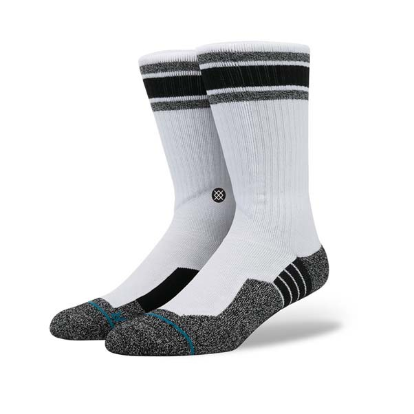 Stance Socks Deathless Thread River Styx Socks White Large