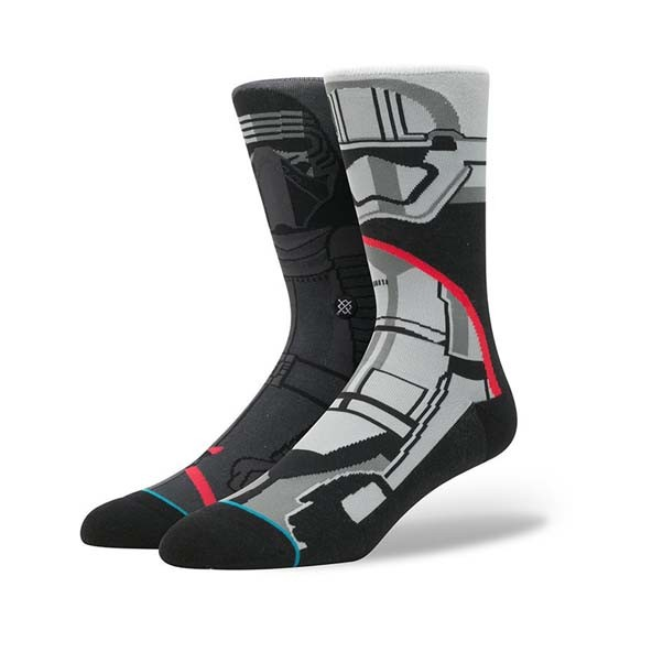 Stance x Star Wars Socks First Order Dark Grey Large
