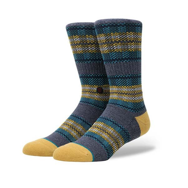 Stance Socks Sidestep Seasonal Styles Gaviotas 2 Socks Blue
