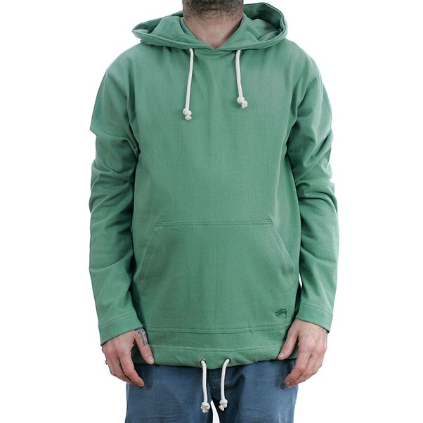 Stussy O'Dyed Hooded Sweatshirt Green