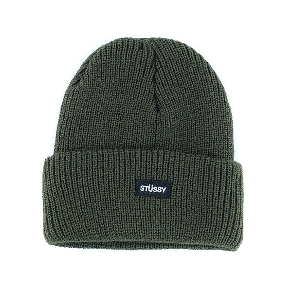 Stussy Watch Fall 17 Beanie Hat Olive Green