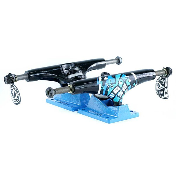 Thunder Trucks 147 Hi New Wave Skateboard Trucks Black 147mm