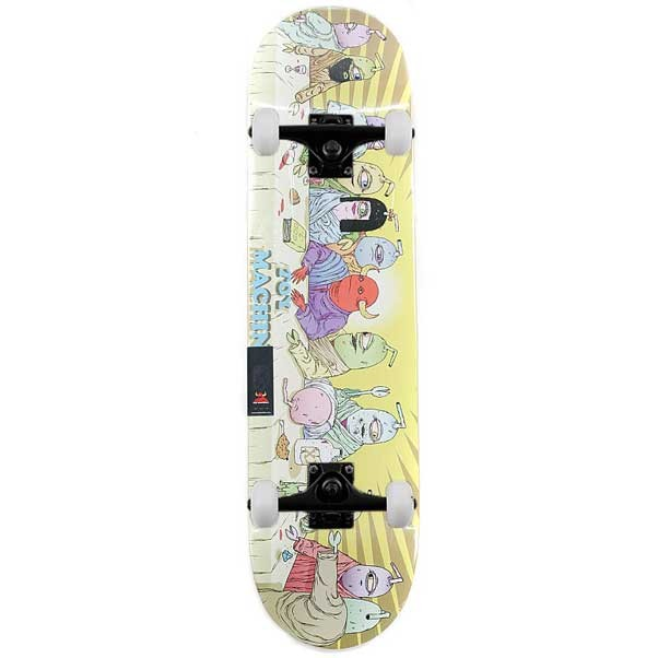 Toy Machine Last Supper Complete Skateboard 8""