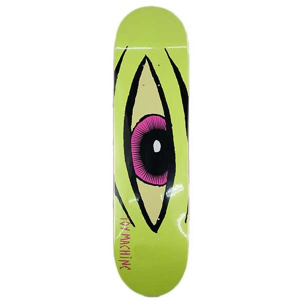 TOY MACHINE SECT EYE LIME DECK 8.0""