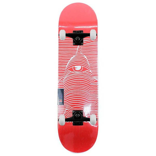 """Toy Machine Skateboards Toy Division Complete Skateboard Red 8.25"""""""