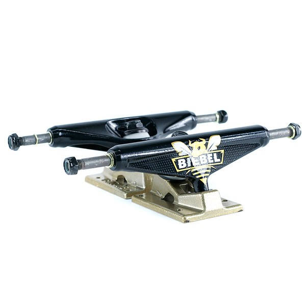 Venture Low Brandon Biebel Bee-Bull Skateboard Trucks Black 5.25""