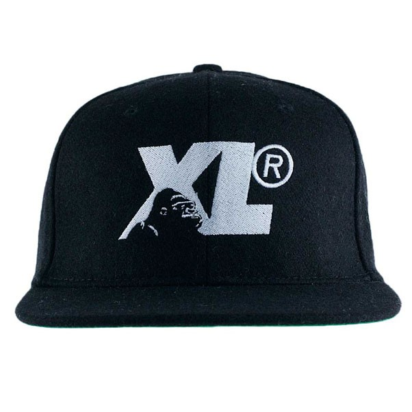 X-Large Clothing Gorilla Cameo Strapback Hat Black