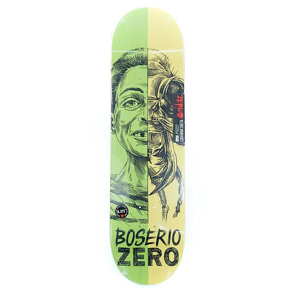 Zero Skateboards Nick Boserio Alter Ego R7 Pro Skateboard Deck 8.375""
