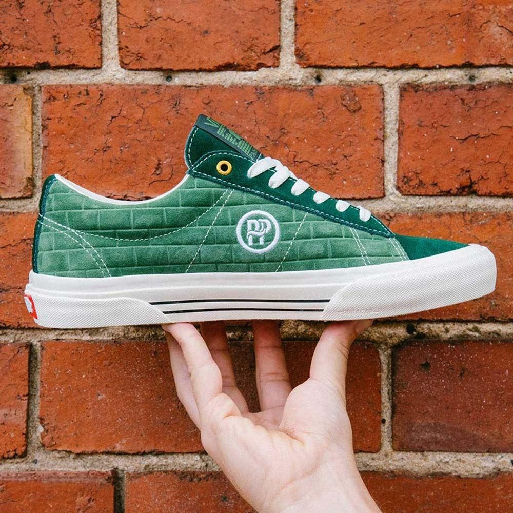 0f5f89602b Vans x Passport Sid Pro LTD Dark Green Skate Shoes at Black Sheep  Skateboard Shop