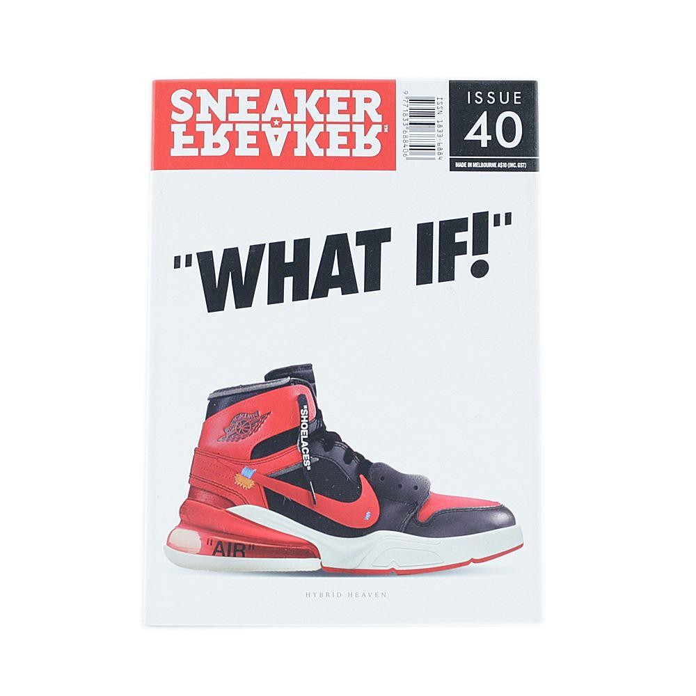 04dc28246a9 Sneaker Freaker Magazine Issue 40 What If Cover at Black Sheep