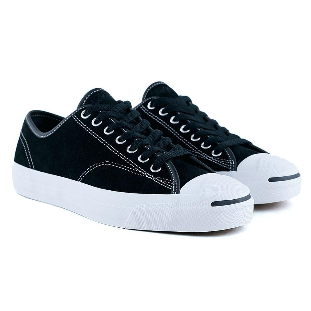 cf612d687a08 Converse Cons Jack Purcell Pro Ox Black Black White at Black Sheep  Skateboard Shop