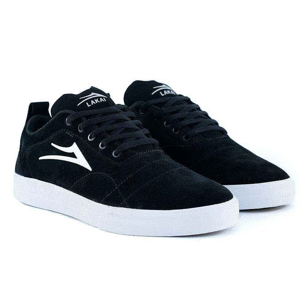 0001111eb3f Lakai Footwear Bristol Black White Suede SKate Shoes at Black Sheep  Skateboard Shop