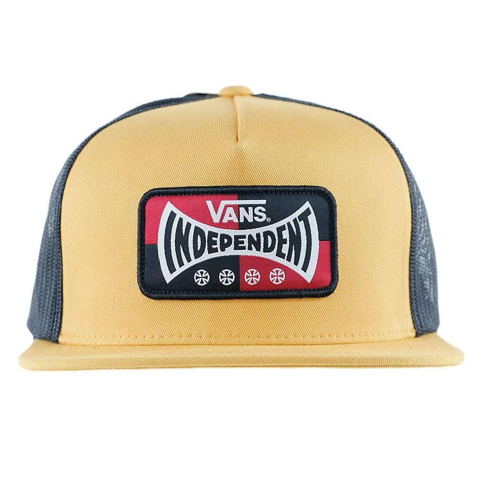 9eb857118dc Vans x Independent Trucks Trucker Snapback Sunflower at Black Sheep Skateboard  Shop