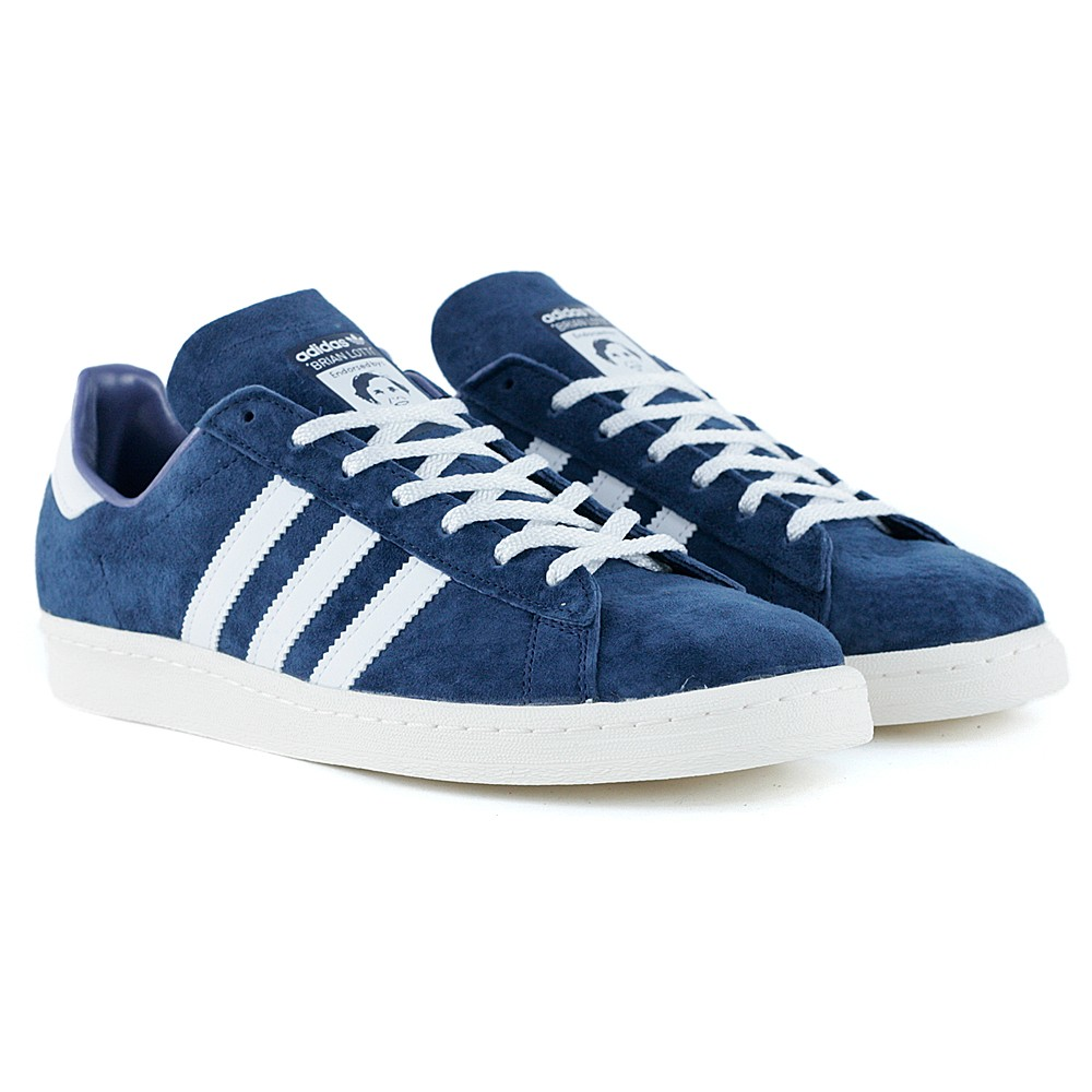 be11fc4d24e115 Adidas Skateboarding Campus 80s RYR Brian Lotti Collegiate Navy Feather  White Chalk at Black Sheep Skateboard Shop