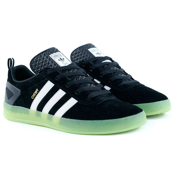 Adidas Skateboarding Palace Pro Chewy Cannon Black White Green Skate Shoes 41ce03958ec3