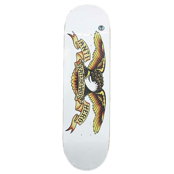 Anti Hero Classic Eagle XXL Skateboard Deck White 8.75""