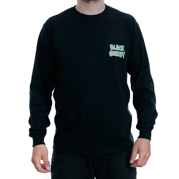 Black Sheep 0161 Long Sleeved T-Shirt Black
