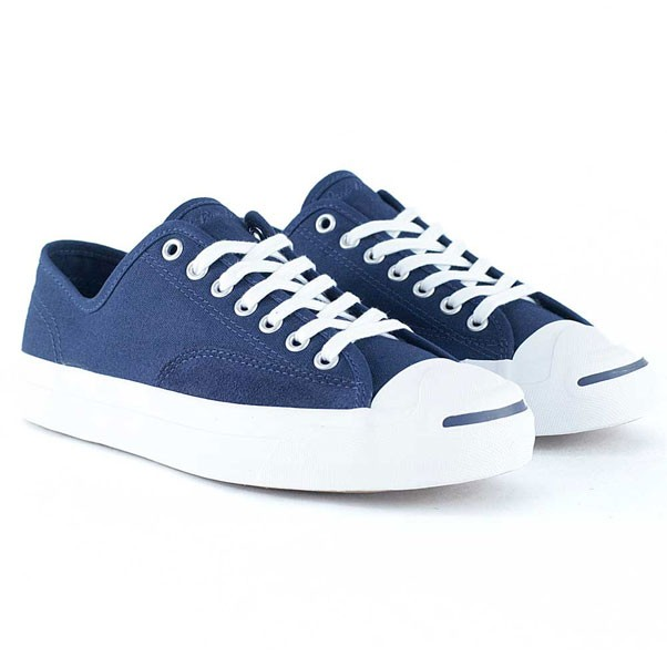 aac26aef64c1 Converse Cons Jack Purcell Pro Obsidian White Skate Shoes at Black ...