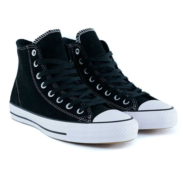 Converse Ctas Pro High Black White Skate Shoes