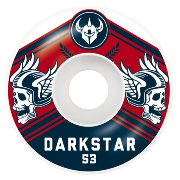 Darkstar Skateboards Ale Skateboard Wheels Navy Red 53mm