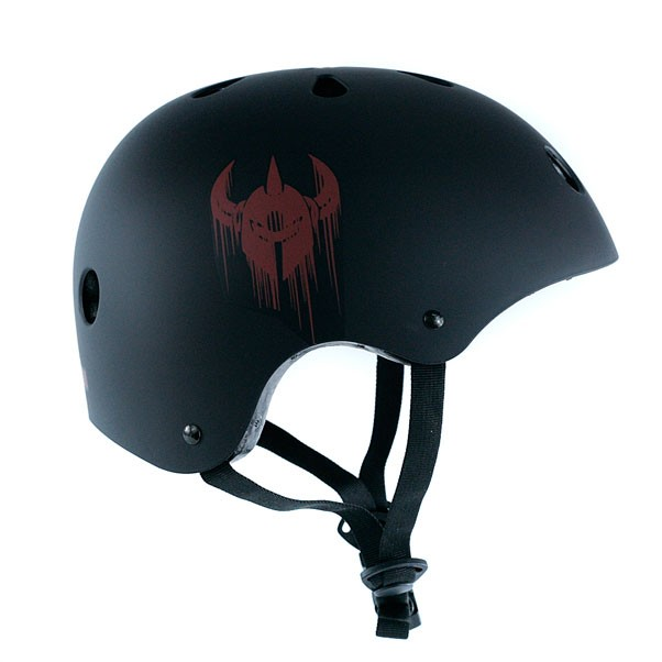 Darkstar Skateboards Drips Helmet Black