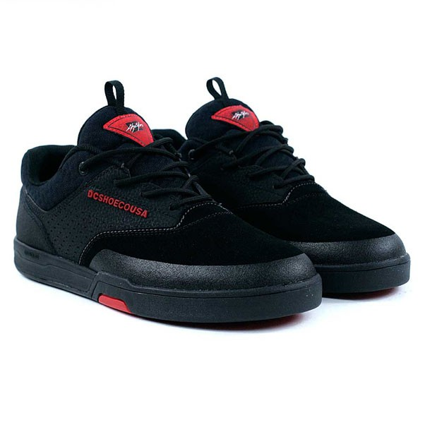 dc shoes high tops red and black. dc shoes cole lite 3 black red skate dc high tops and