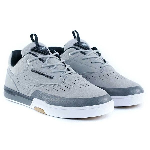 Dc Shoes Cole Lite 3 S Grey Black Skate Shoes