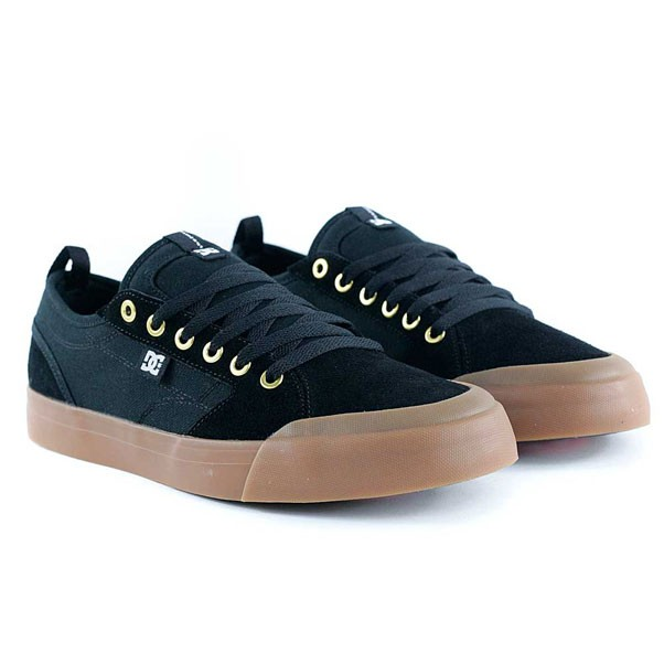 Dc Shoes Evan Smith Black Black Gum Skate Shoes