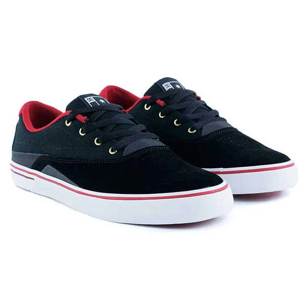 Dc Shoes Sultan S Black Red Skate Shoes
