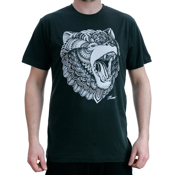 Dephect Grizzly T-Shirt Charcoal