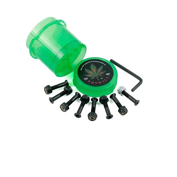 """Diamond Supply Co Pudwill 7/8"""" Bolts With Grinder"""