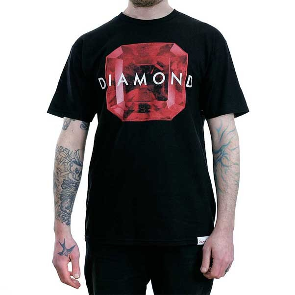 Diamond Supply Co Rare Gem T-Shirt Black