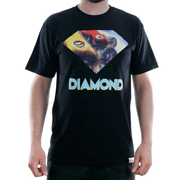 Diamond Supply Co Monaco T-Shirt Black