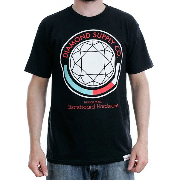 Diamond Supply Co Worlds Best T-Shirt Black