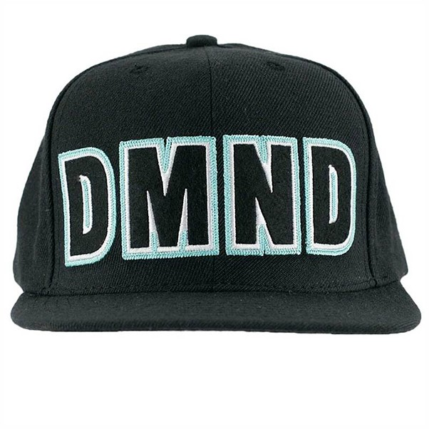 Diamond Dmnd Felt Embroidered Snapback Black