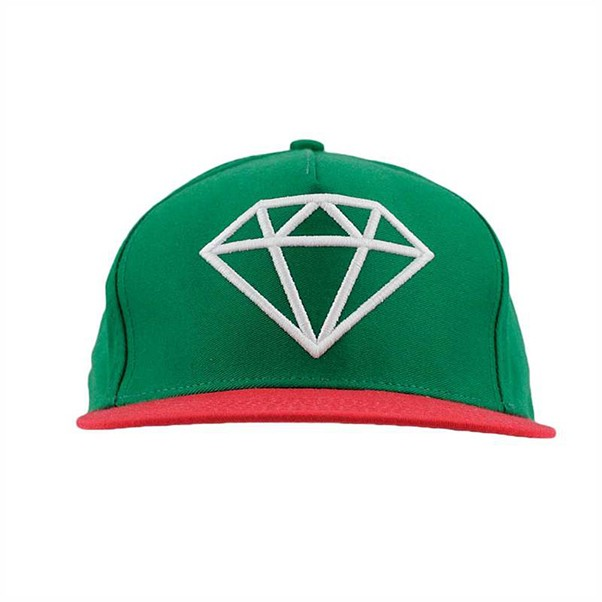 Diamond Rock Logo Green/White