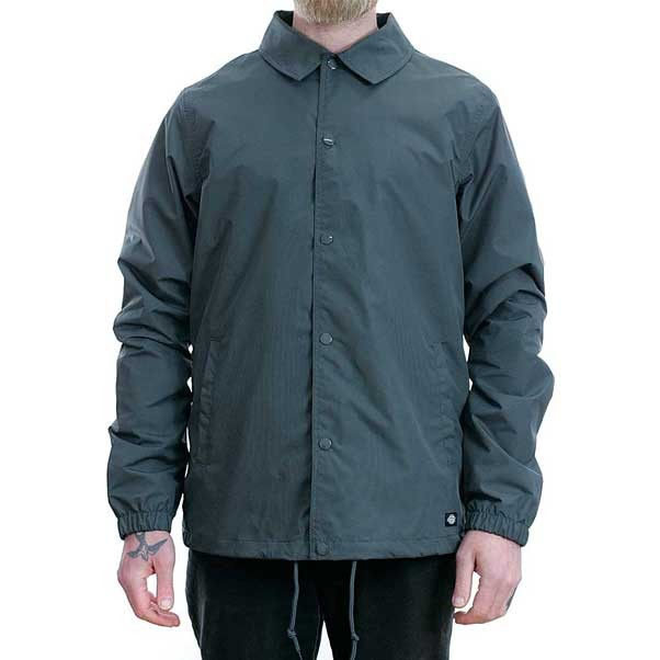 Dickies Torrance Coach Jacket Charcoal Grey