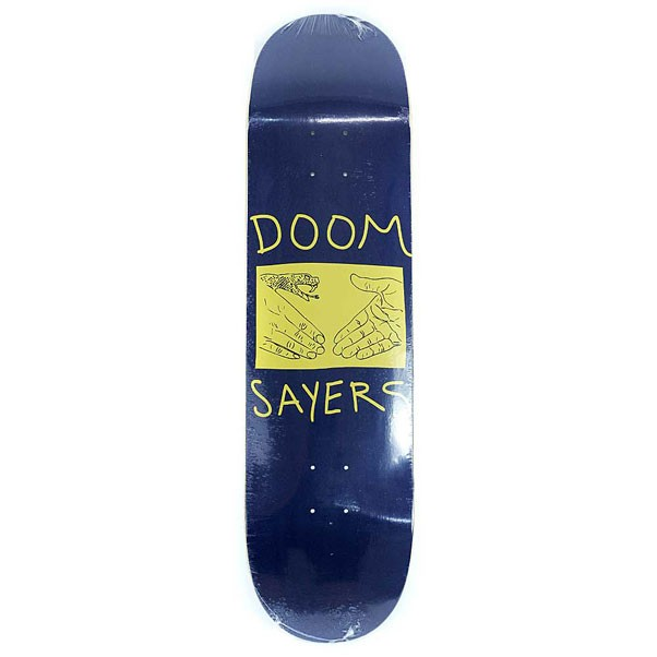 Doomsayers Skateboards Doom Wood Snake Shake Skateboard Deck 8.38""