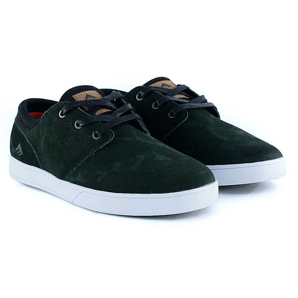 Emerica Figueroa X Made Green Black Skate Shoes